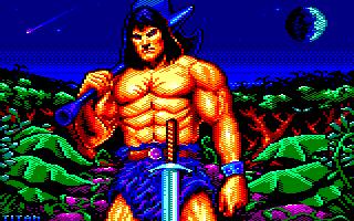 Pixel-Art sur Amstrad CPC avec MULTIPAINT BarbarianReturns_2020