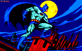 Pixel-Art sur Amstrad CPC avec MULTIPAINT Batman_2021