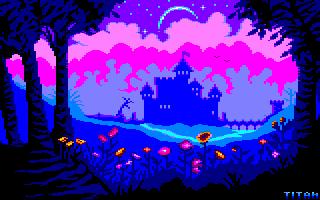 Pixel-Art sur Amstrad CPC avec MULTIPAINT DarkCastle_2020
