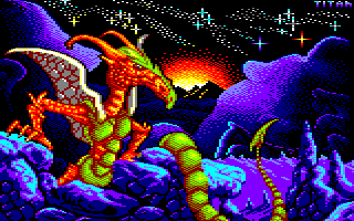 Pixel-Art sur Amstrad CPC avec MULTIPAINT Dragon_2020