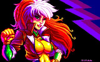 Pixel-Art sur Amstrad CPC avec MULTIPAINT GirlPower_2021