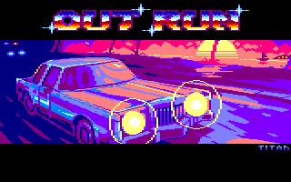 Pixel-Art sur Amstrad CPC avec MULTIPAINT Outrun_2021