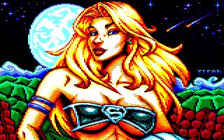 Pixel-Art sur Amstrad CPC avec MULTIPAINT SuperGirl_2020