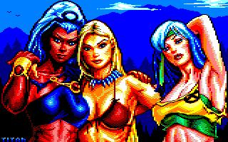 Pixel-Art sur Amstrad CPC avec MULTIPAINT WildBabies_2020