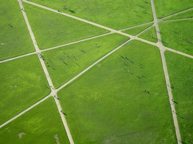 Gradovi i mesta uslikani iz vazduha Top_view