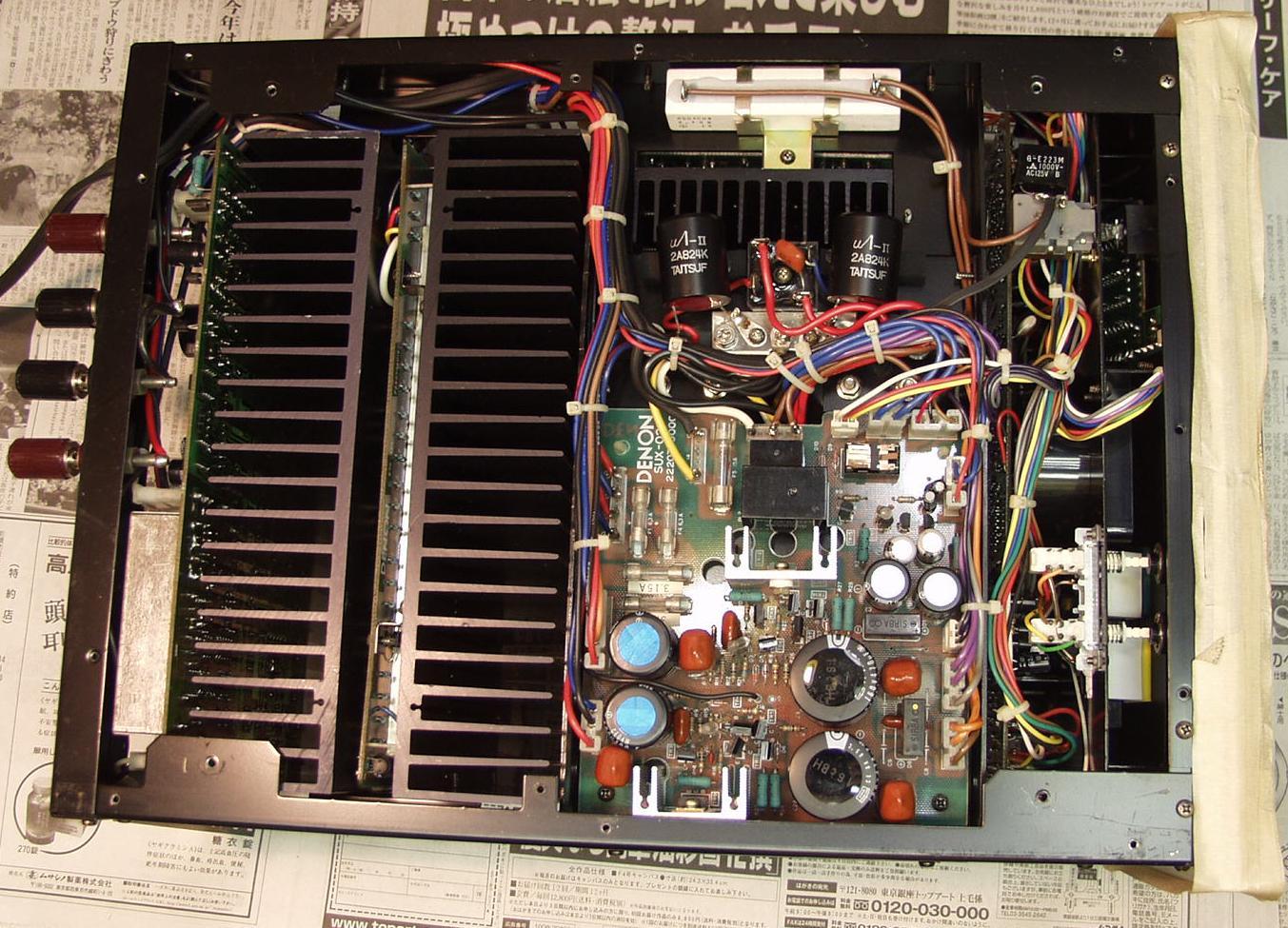 Etapas Mono Denon POA S-1 De8000-2