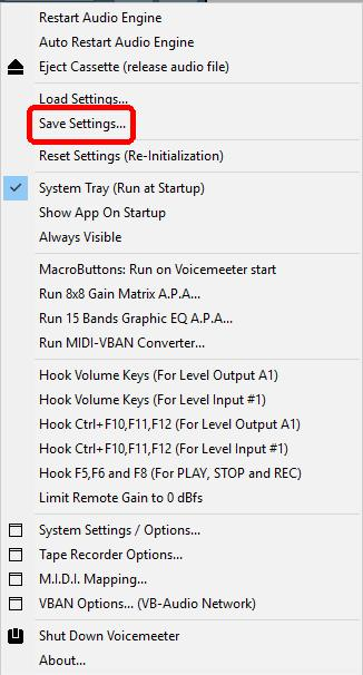 Clé USB DVstick 30 de DVMEGA : Configuration Equalizer Voice Meter Banana de VB-AUDIO 05-voice-meter-banana