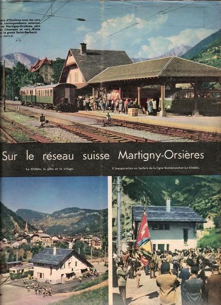 Suisse, La ligne de Martigny -Orsière  Img136
