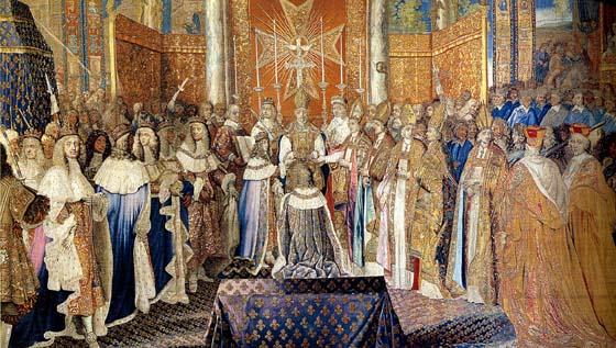 Fastes royaux, la collection de tapisseries de Louis XIV Sacre