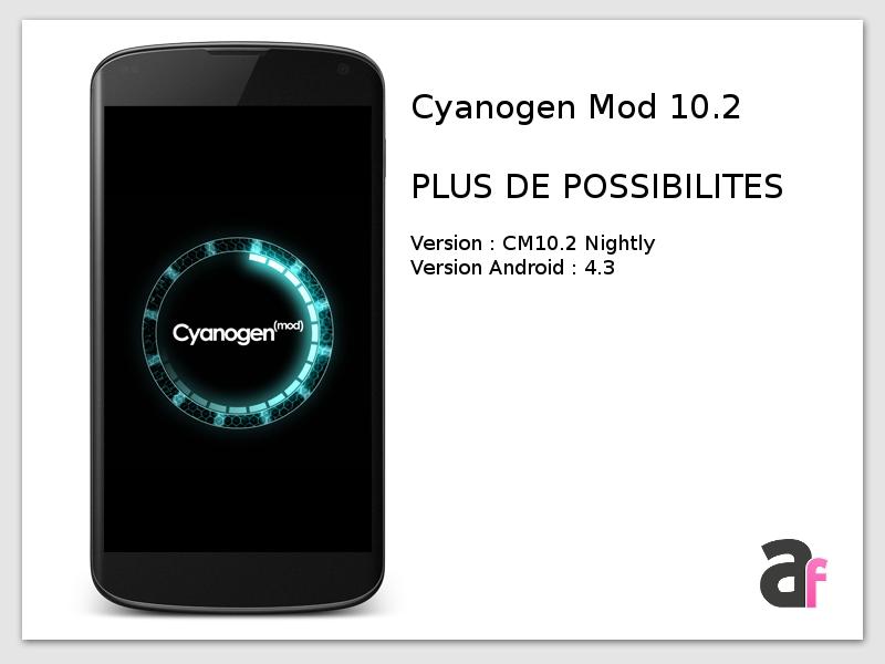 [ANDROID] Différences entre les ROMs custom CyanogenMod / Paranoid / AOKP Cbf07a9d5a87b0aba09046b3c1e2a3e1