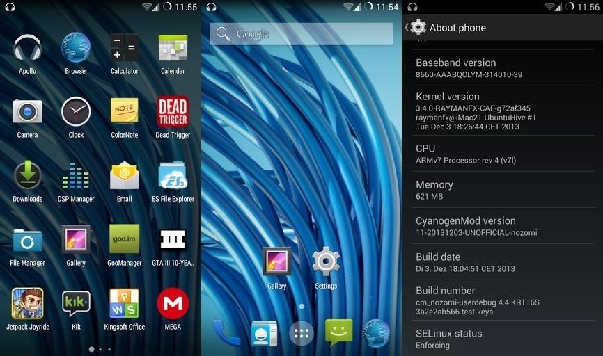 Cyanogen Mod 11 4.4 KitKat Xperia-S-LT26i-Android-4.4-KitKat-Cyanogenmod-11-Screenshots