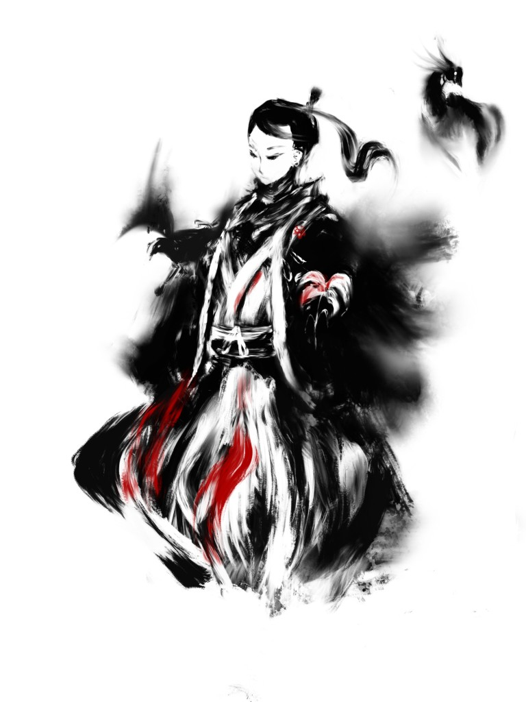 Ange - L'art du vide Samurai-Bird