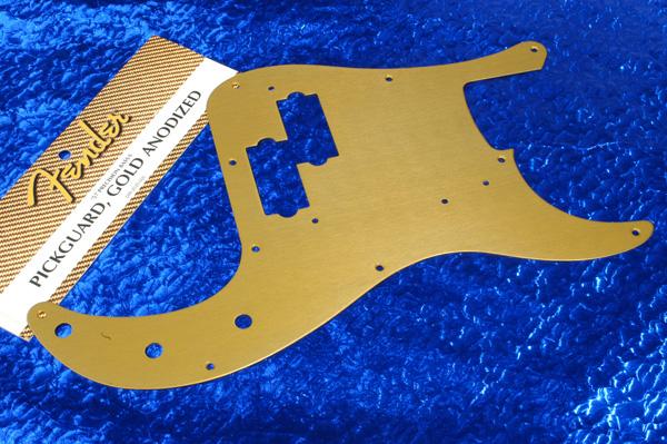 Escudo dourado para Precision Fender57GoldAnod
