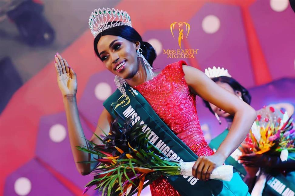 Maristella Okpala -  Miss Earth Nigeria 2018  YMWHL4JS30Niger