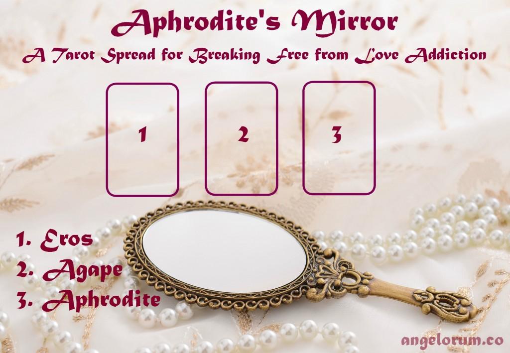Curación del tarot para la adicción al amor Aphrodites-Mirror-Tarot-Spread1-1024x709