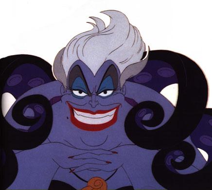 Baccalauréat en images (Disney). Ursula-2