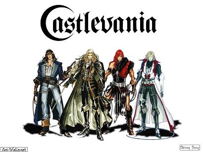 Quelques illustrations Castlevania01