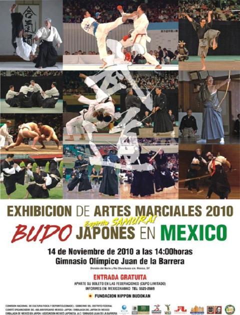 Exhibición Artes Marciales Tradicionales Japonesas Budo%202010