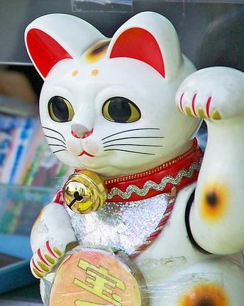 Кот на счастье Kot