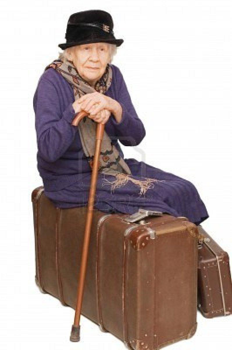 Petites histoires brèves - Page 8 7496132-la-vieille-dame-repose-sur-une-valise