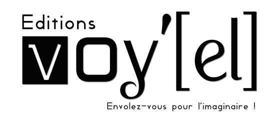 Les Éditions Voy'el Logo-voyel