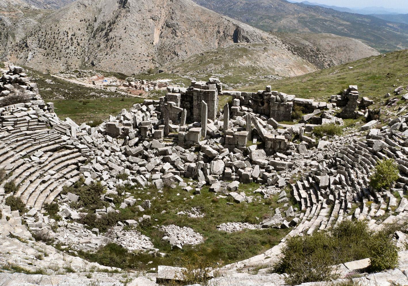 Sagalassos, la cité oubliée Sagalassos02b