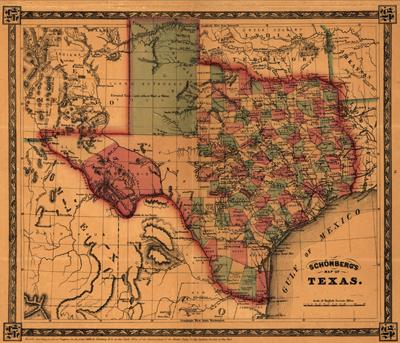 Sjedinjene Američke Države Texas1866LOC72SM