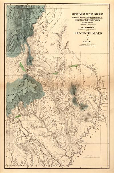Sjedinjene Američke Države Utah1875LOC72SM