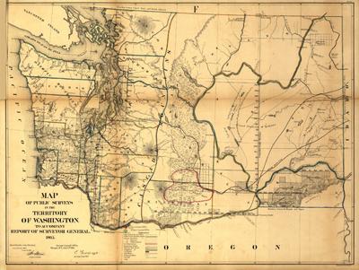 Sjedinjene Američke Države Washington1866LOC72SM