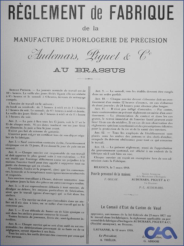 [CHA] Immersion au coeur de la manufacture Audemars Piguet. 81