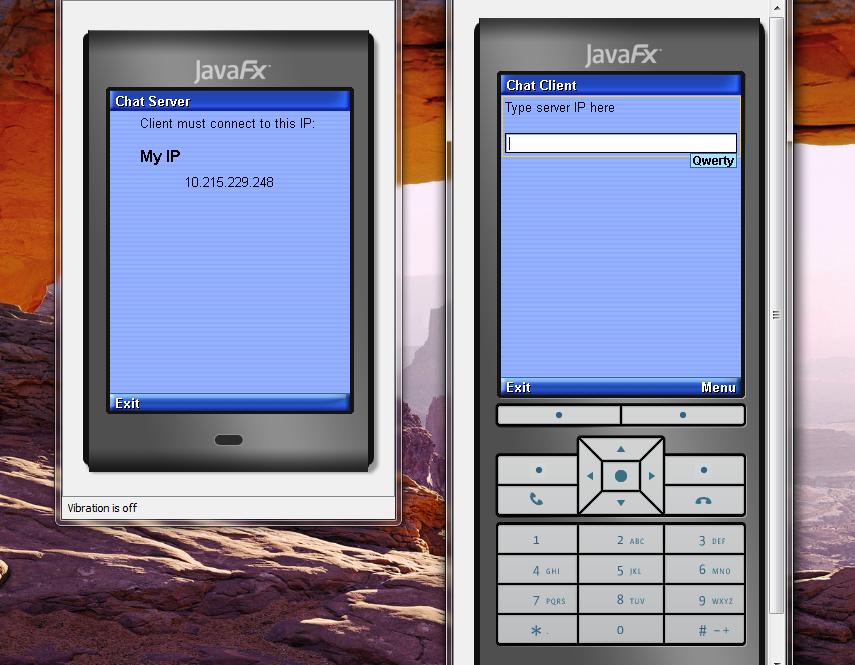 تعلم كيفية إنشاء تطبيق دردشة بيسط للجوالات بأستخدام J2ME مع NetBeans 32