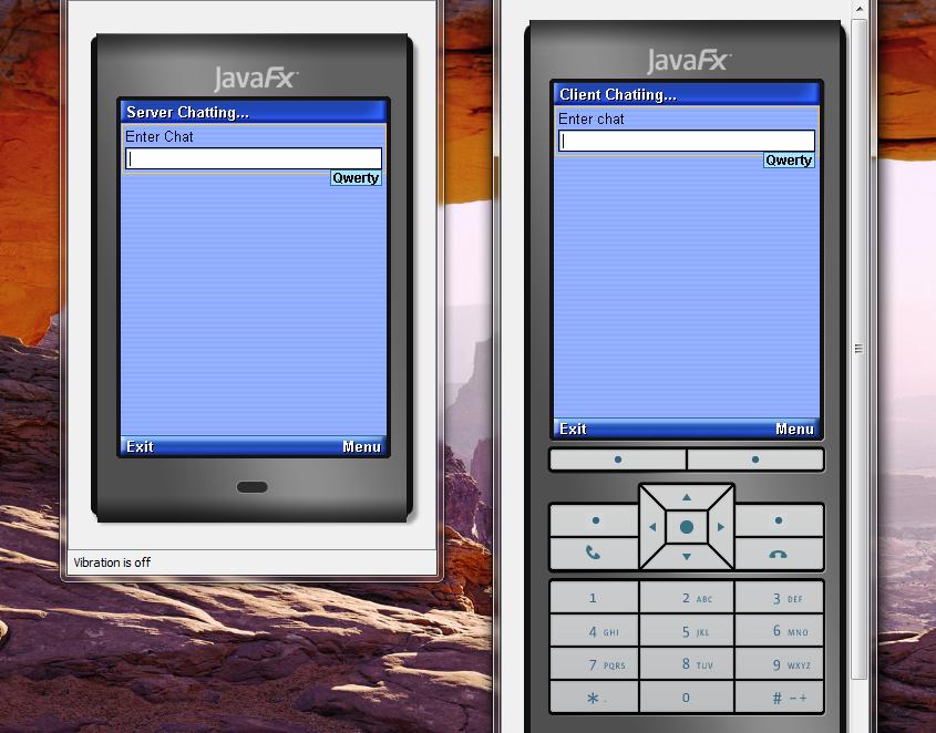 تعلم كيفية إنشاء تطبيق دردشة بيسط للجوالات بأستخدام J2ME مع NetBeans 61