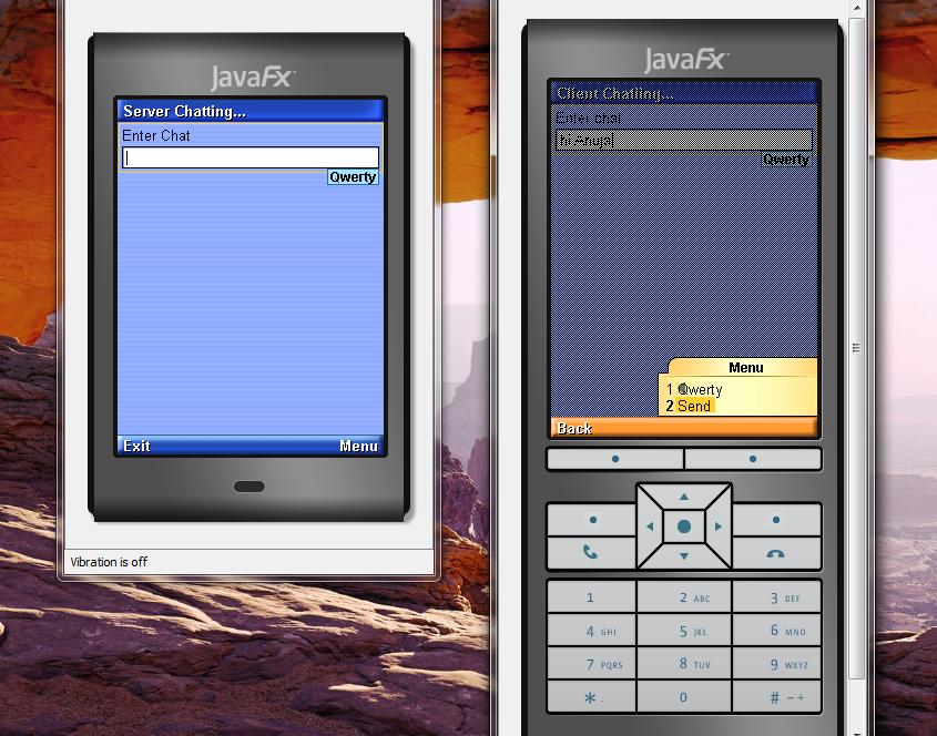 تعلم كيفية إنشاء تطبيق دردشة بيسط للجوالات بأستخدام J2ME مع NetBeans 71