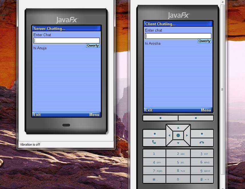 تعلم كيفية إنشاء تطبيق دردشة بيسط للجوالات بأستخدام J2ME مع NetBeans 91