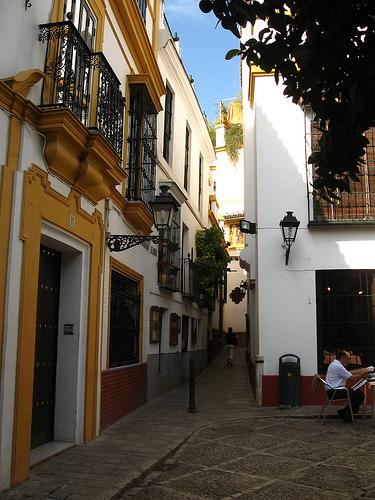 SEVILLA Barrio_santa_cruz_pz_elvira