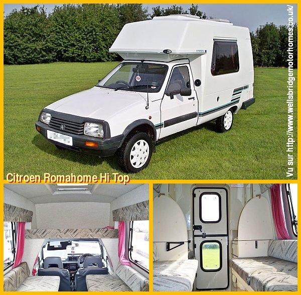 Visa Citroën anglaise RomaHome