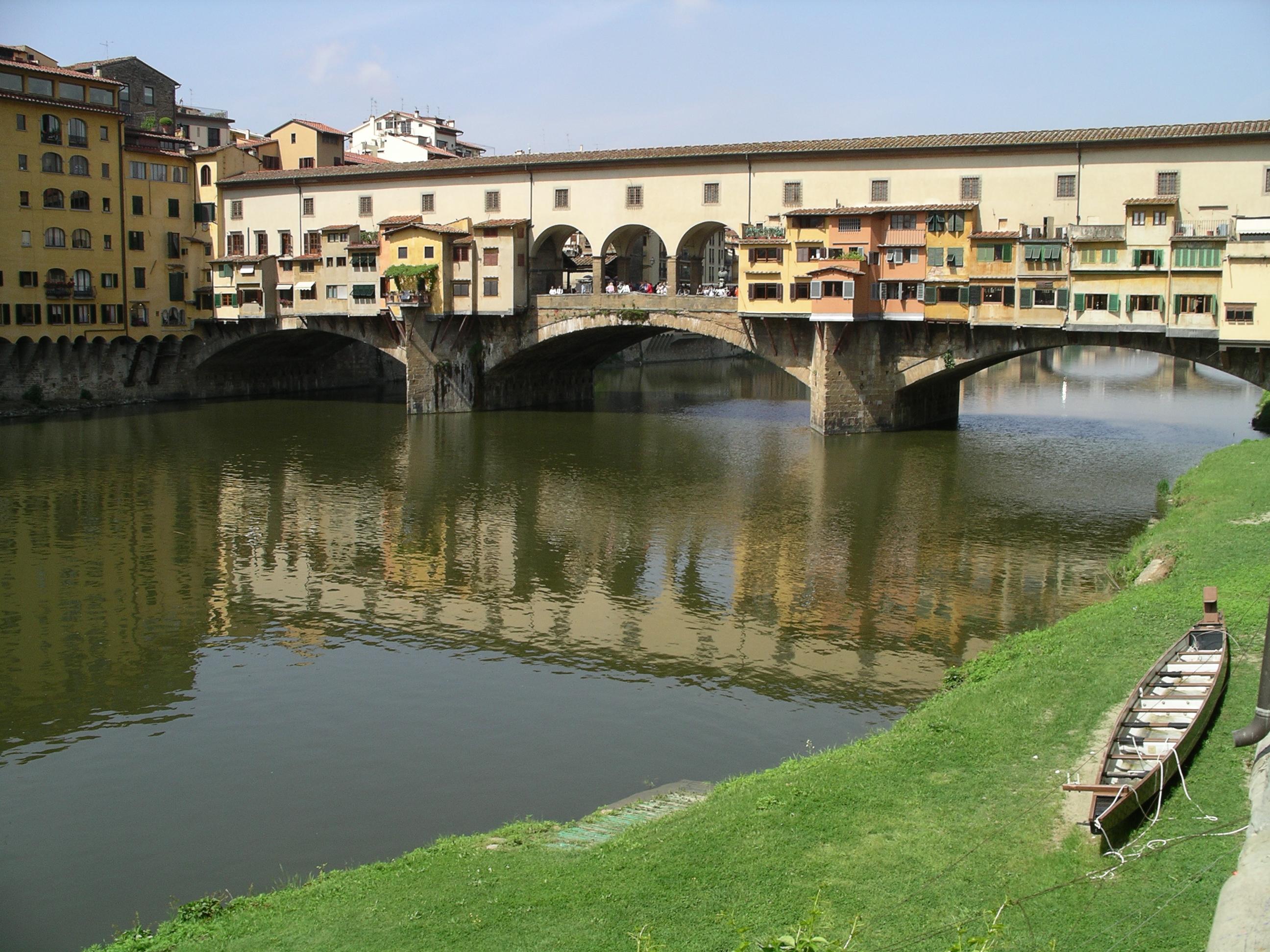 Arhitektura koja spaja ljude - Mostovi Ponte20vecchio2001