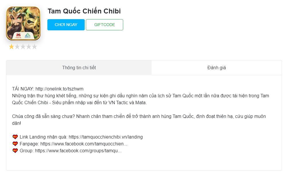 Mừng cán mốc 20000 người chơi, Tam Quốc Chiến Chibi gửi tặng hàng nghìn GIFTCODE giá trị! 132472250243766998
