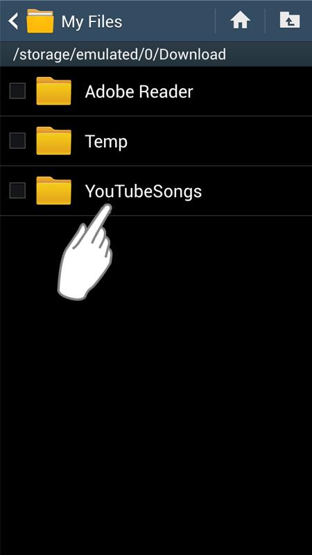 Aplikace uTube2MP3 UTube2MP34