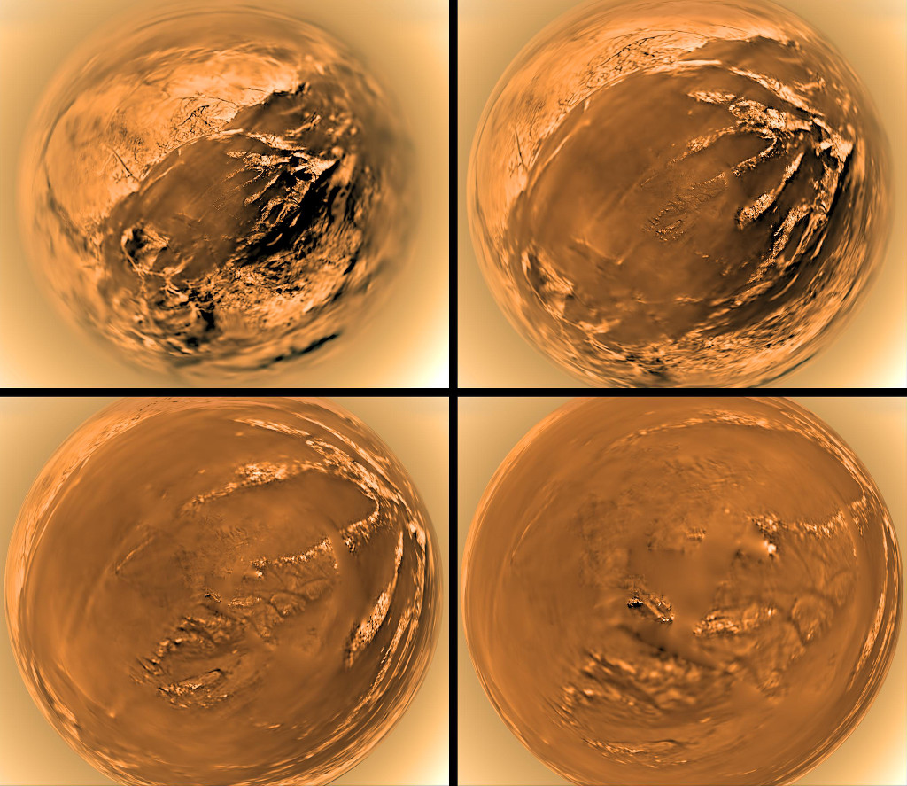 Vendredi 16 janvier 2015 Anniversaire de Huyghens sur Titan 150116