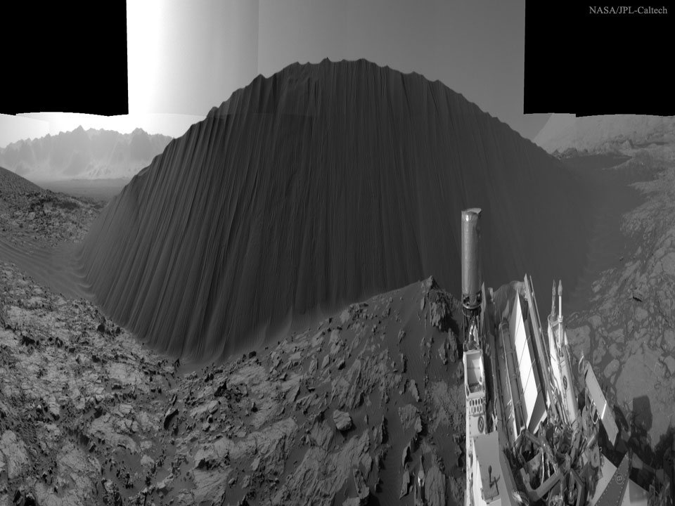 Chateau de sable sur Mars! 160119
