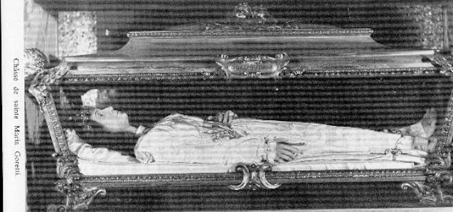 MARIA GORETTI - sainte MARIA GORETTI Gorettichasse
