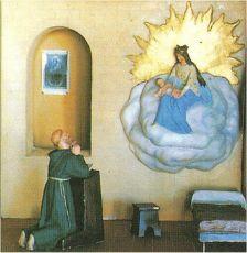 Apparition à Cotignac 1519 Cotignac_fiacre