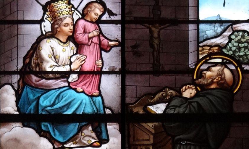 Apparition à Cotignac 1519 Cotignac_fiacre2