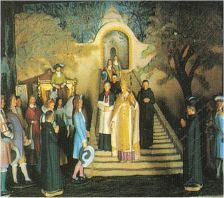Apparition à Cotignac 1519 Cotignac_louis14_1