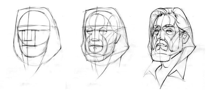 Mes dessins Etape-par-etape