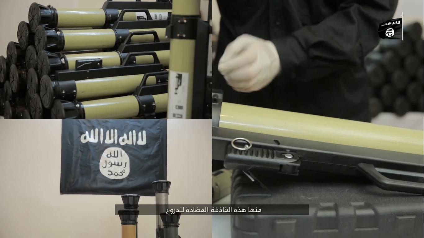 تنظيم الدولة يصنّع قذائف متطورة ويطوّر مضادات روسية  Untitled