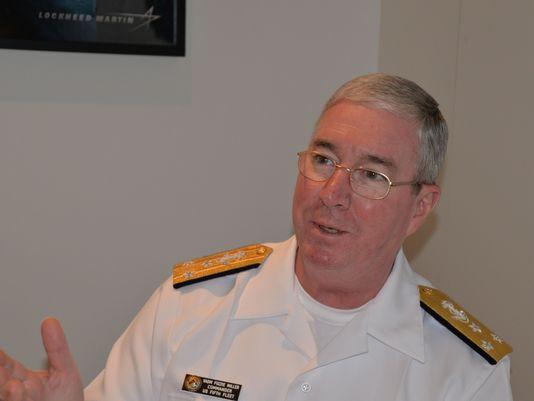 مقابلة مع: نائب الأدميرال جون ميلر قائد قوات القيادة المركزية للبحرية الأمريكية، وقائد الأسطول الخامس الأمريكي/القوات البحرية المشتركة Image-4-of-4_DNArabic