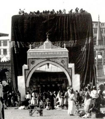 صور نادرة للكعبة الشريفه Mecca-58