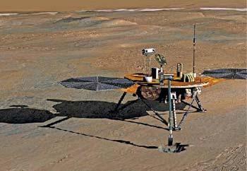 ناسا: العثور على الماء في المريخ 01